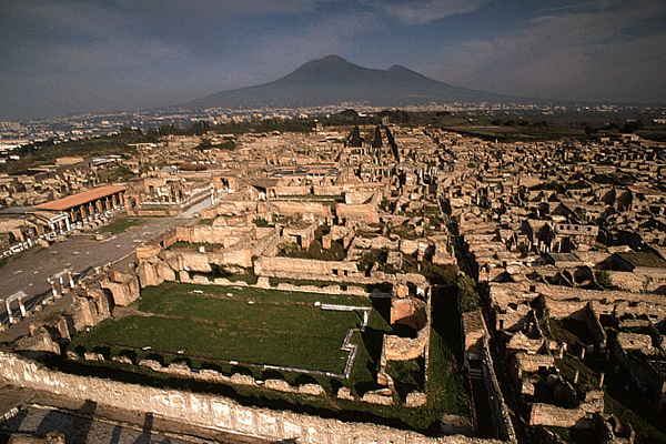 Visit Pompeii archaeological site