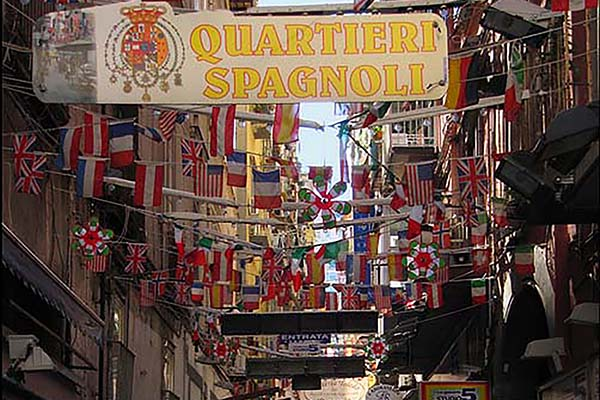 Spanish Quarters Tour