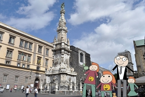 Tour for family and kids in Naples